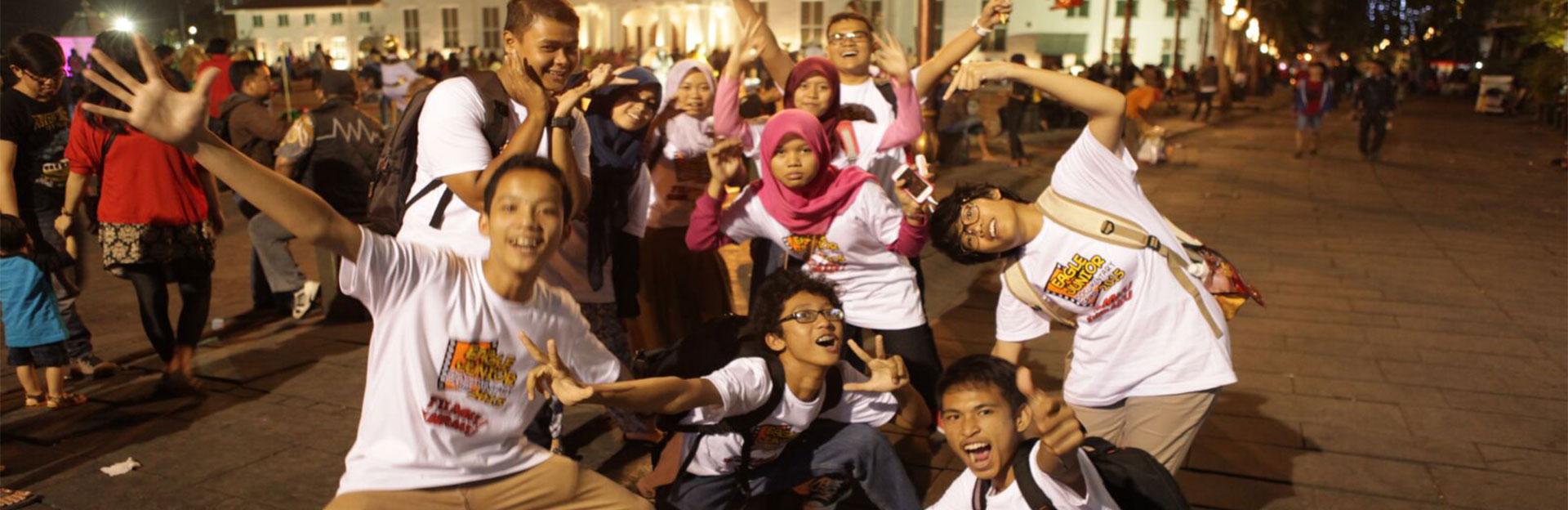 Jalan ke Museum Fatahillah Jakarta