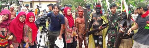 Syuting EADC Papua
